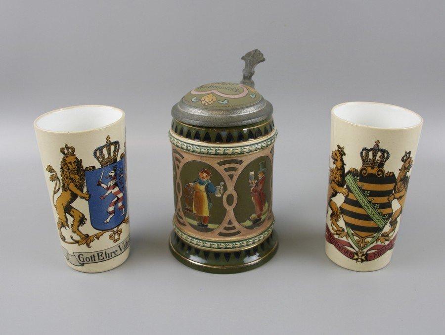 German Beakers and Stein