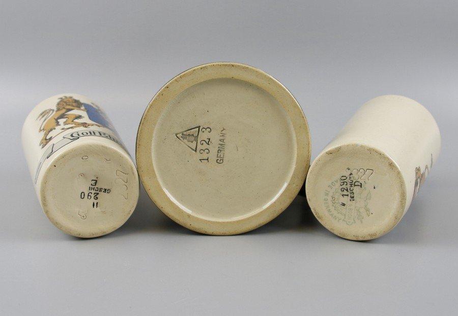 German Beakers and Stein - 3