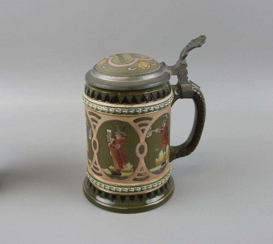 German Beakers and Stein - 8