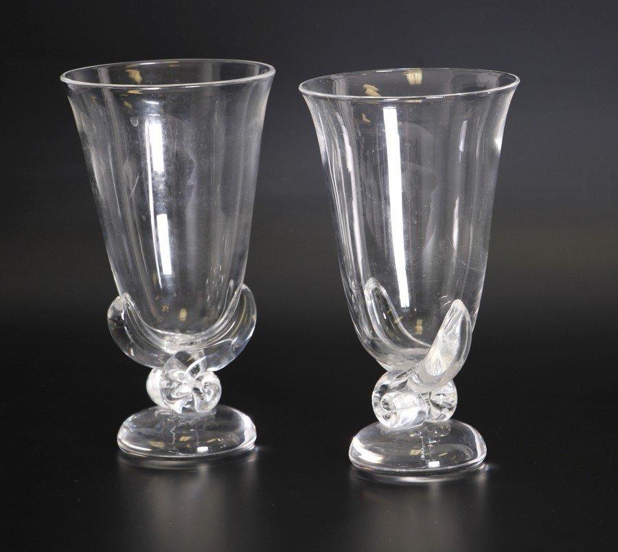 Steuben Glass Vases