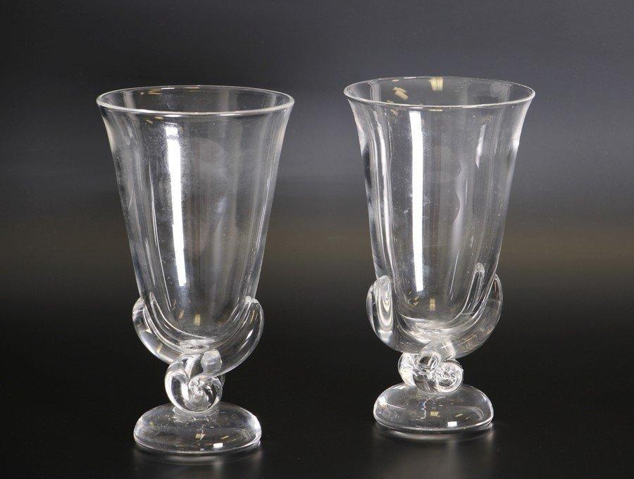 Steuben Glass Vases - 2