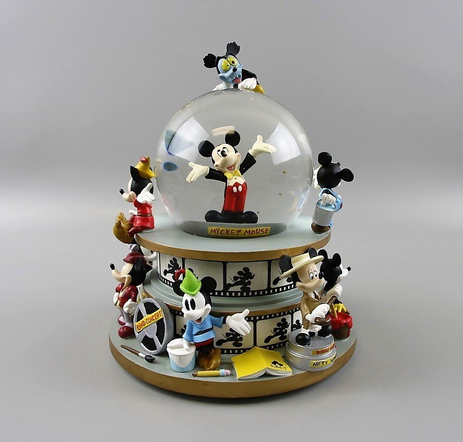 Mickey Mouse through the Years Snow Globe