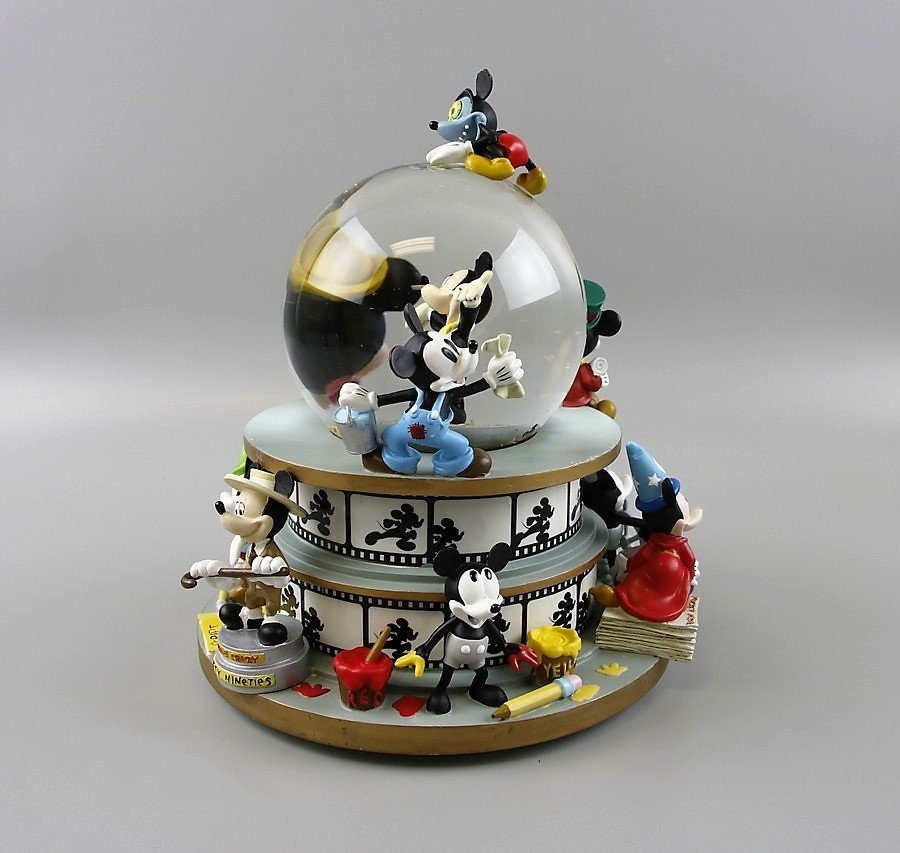 Mickey Mouse through the Years Snow Globe - 2