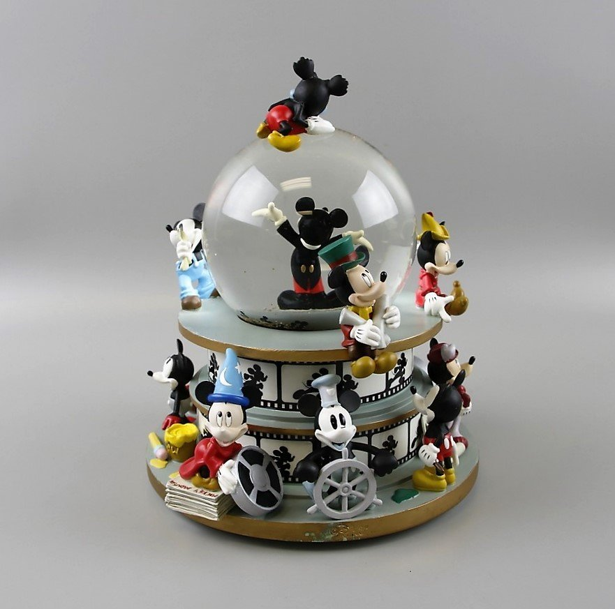 Mickey Mouse through the Years Snow Globe - 3