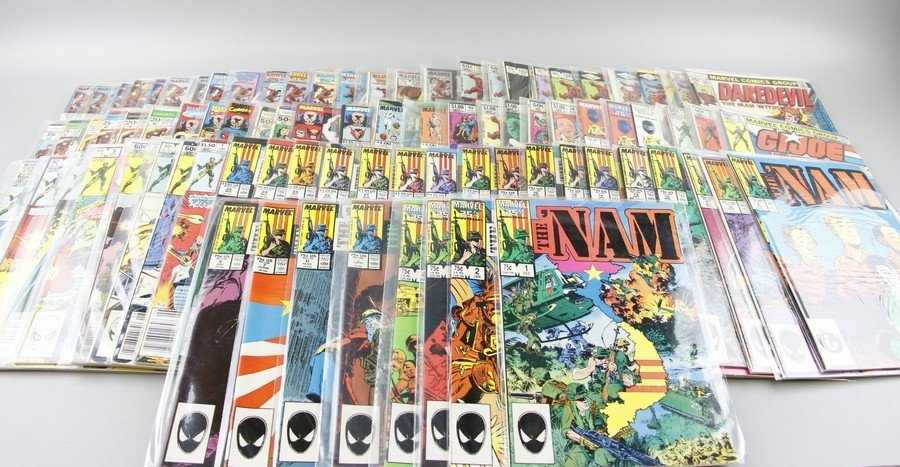The Nam, Gijoe, Daredevil Marvel Comics