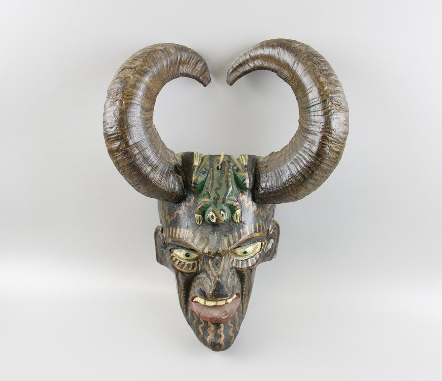 Ram Horn Mask