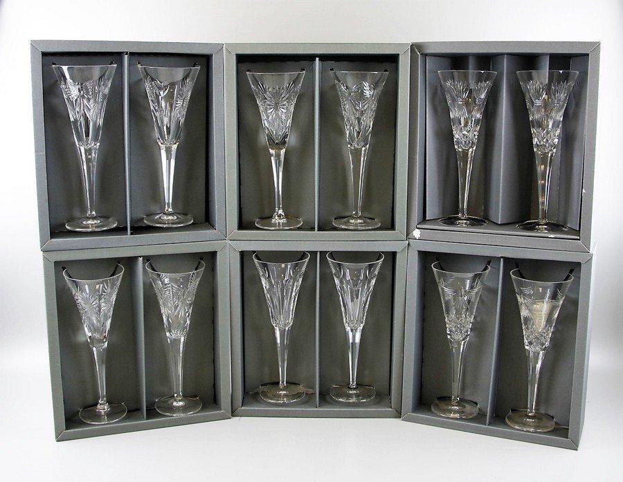 Waterford Crystal Millennium Toasting Flutes