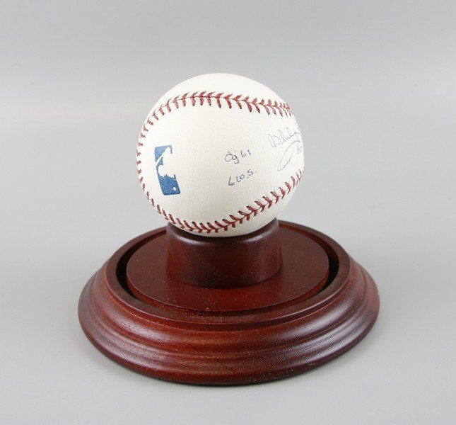 Signed Whitey Ford Baseball - 3