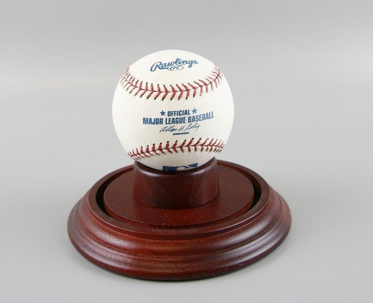 Signed Whitey Ford Baseball - 6