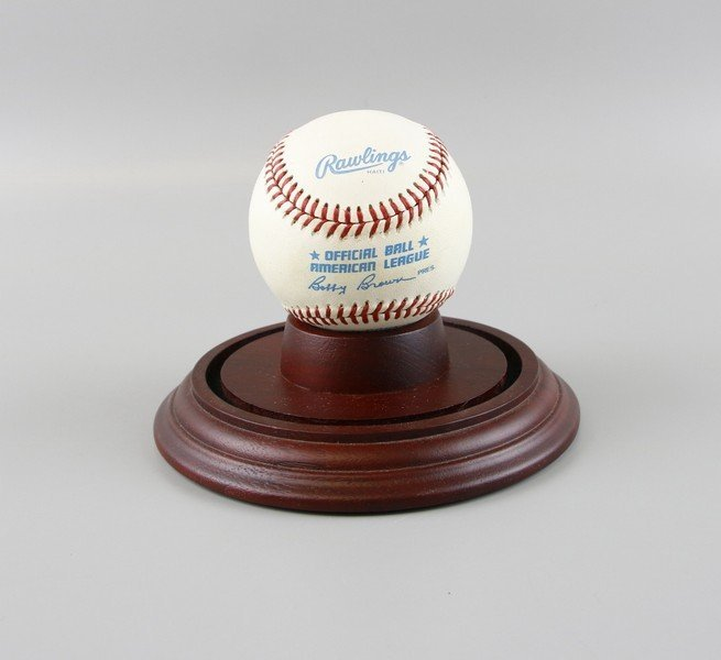 Signed Mickey Mantle Baseball - 3