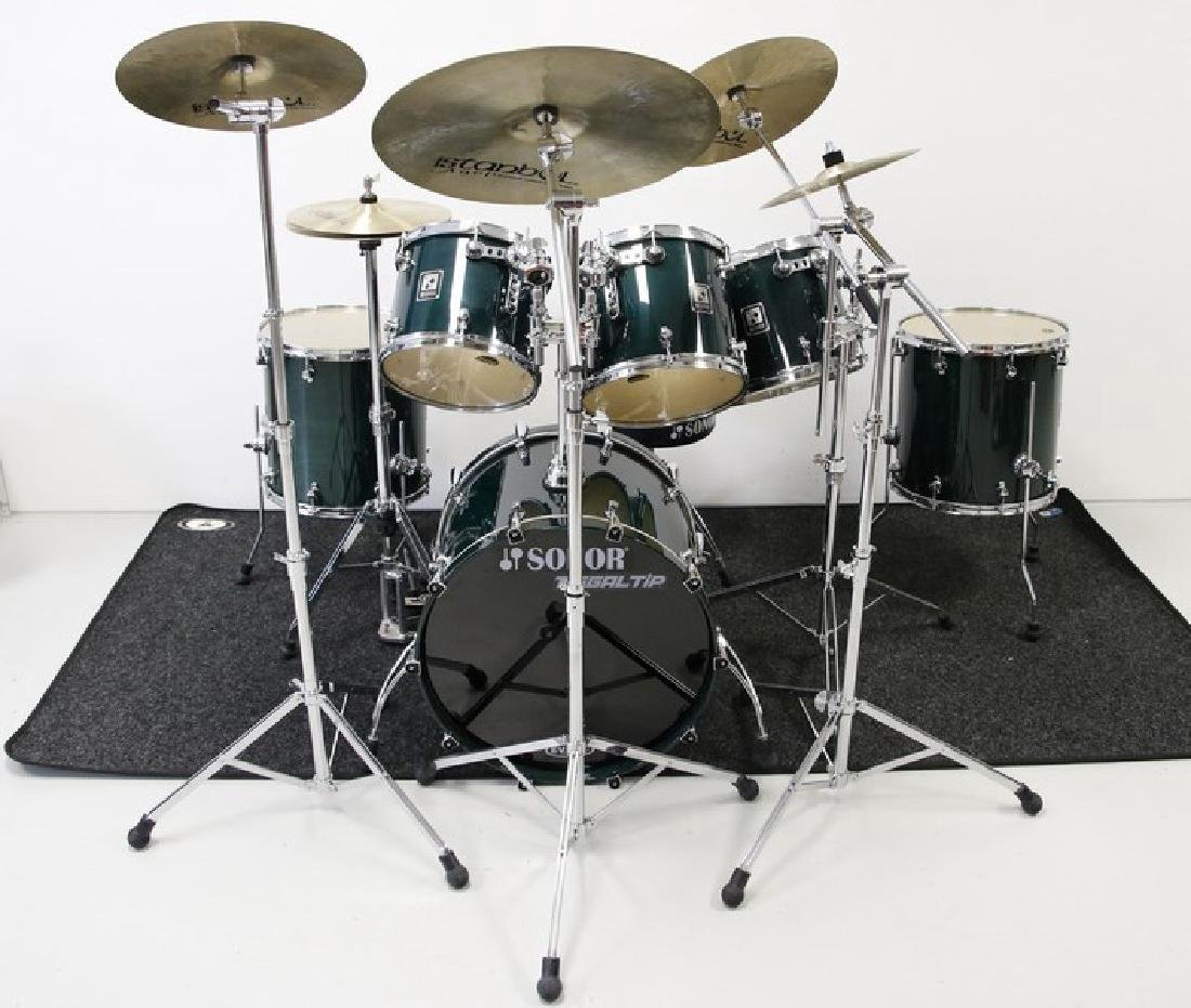 Sonor Drum Set - Six Piece with Five Istanbul Cymbals