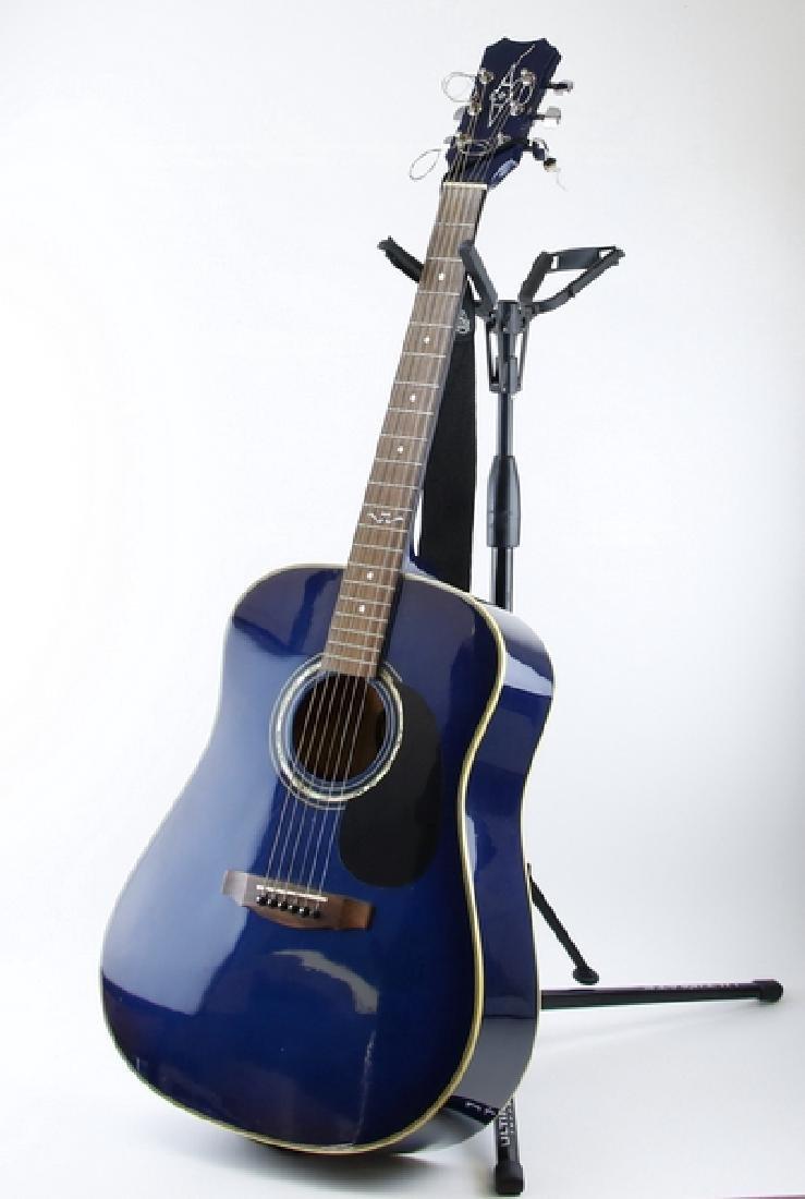 Guitar Alvarez 5044 TBL 6-String Acoustic Guitar (Blue)