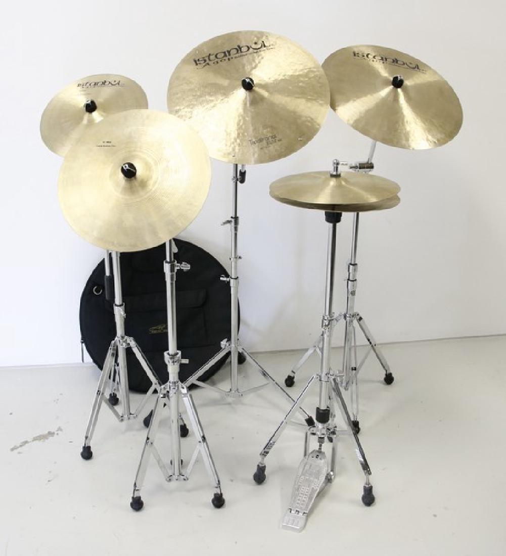 Istanbul Agop five piece cymbal set