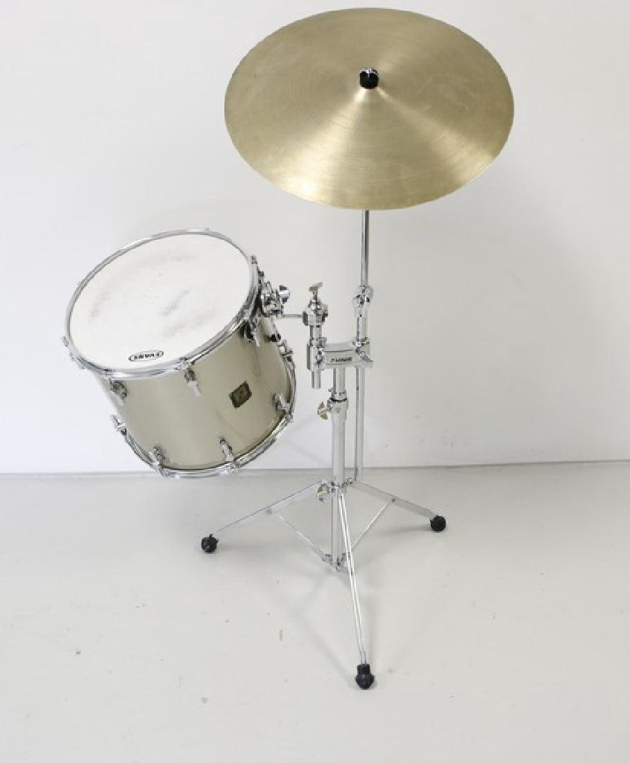 Sonor Delite Single Drum with Sabian Cymbal