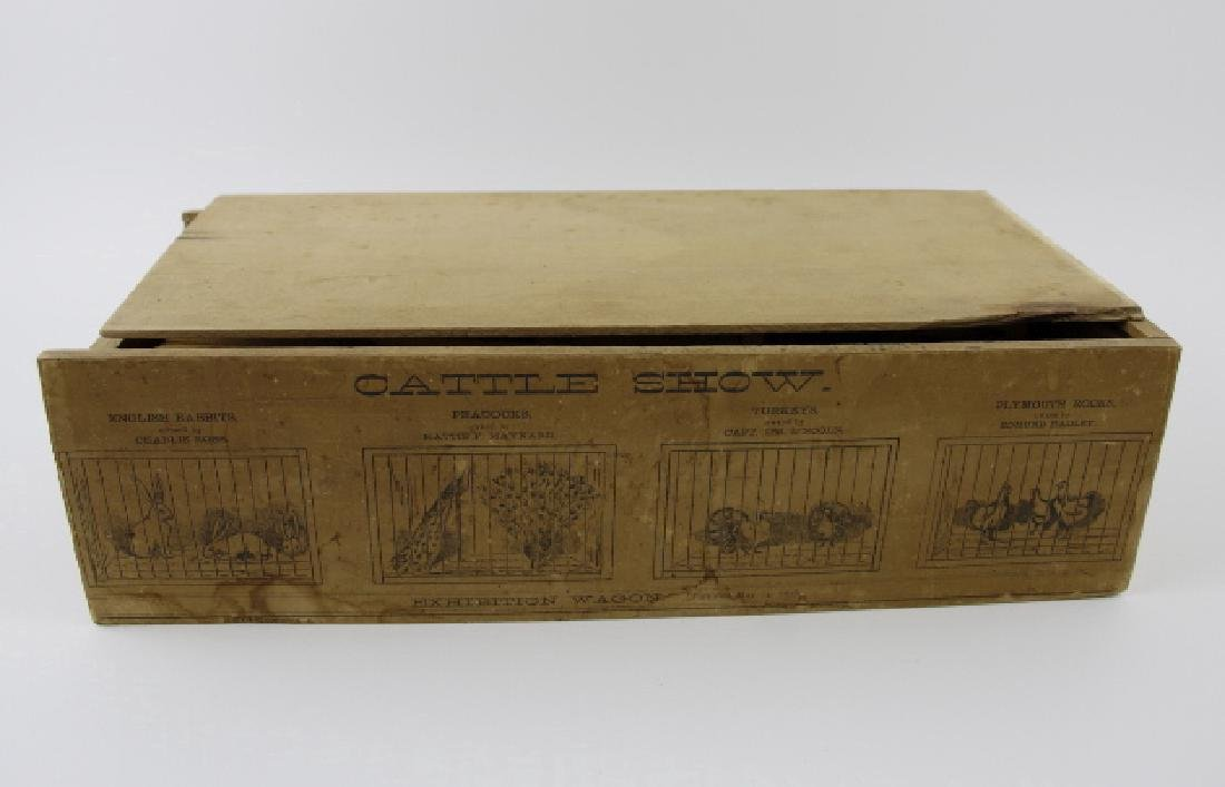 Cattle Exhibition Wagon Show  (1878 TOY)