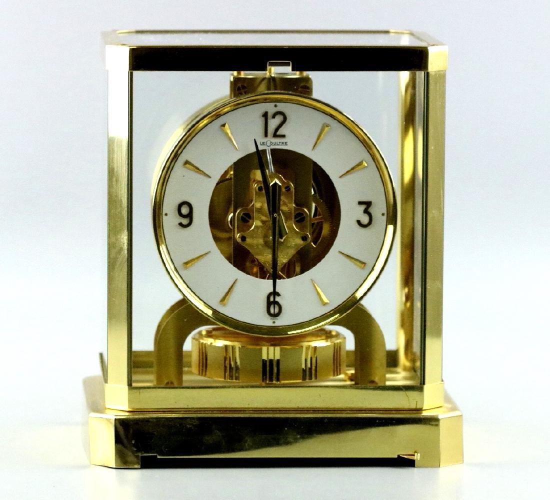 Swiss Le Coulter Atoms Mantle clock