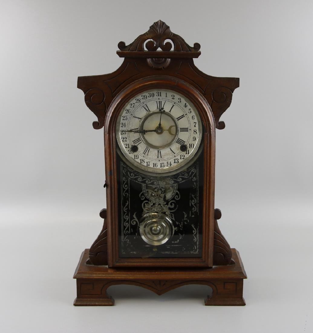 WM L. Gilbert Mantel  Clock