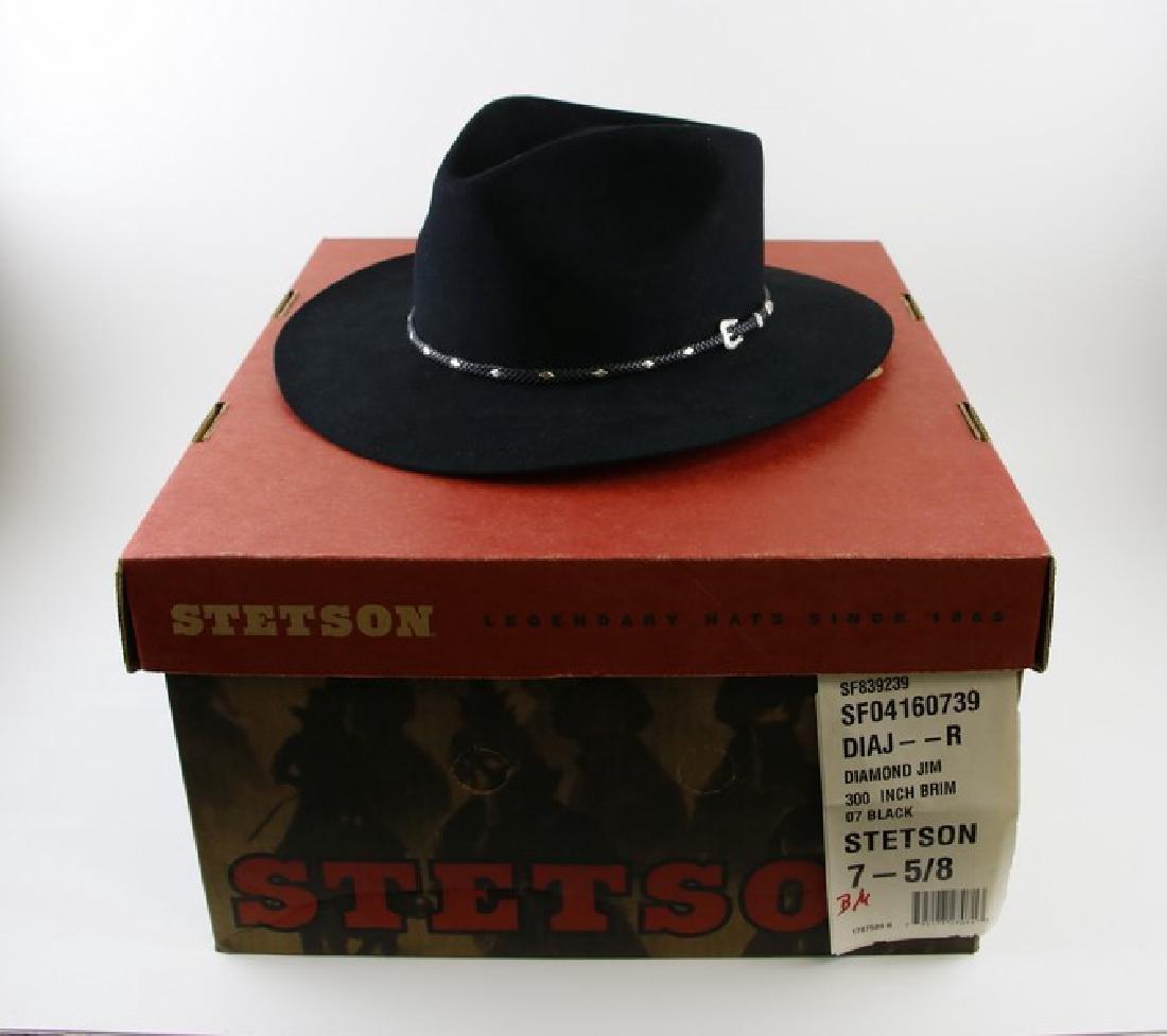 Hat - Stetson Diamond Jim Cowboy Hat