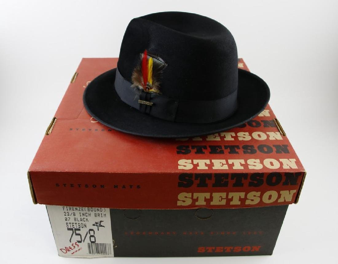 Stetson Fedora Black Hat