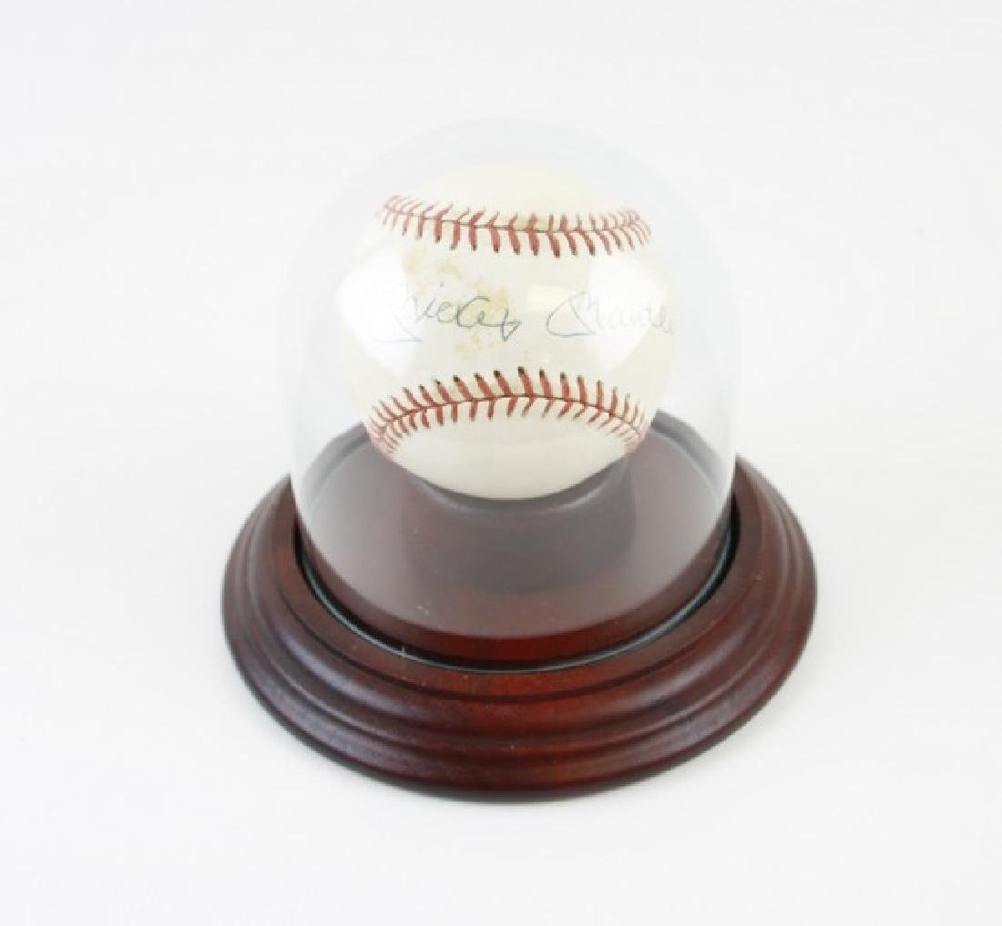 Mickey Mantle Baseball Signed