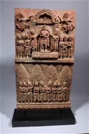 Ancient Bas Relief Stele