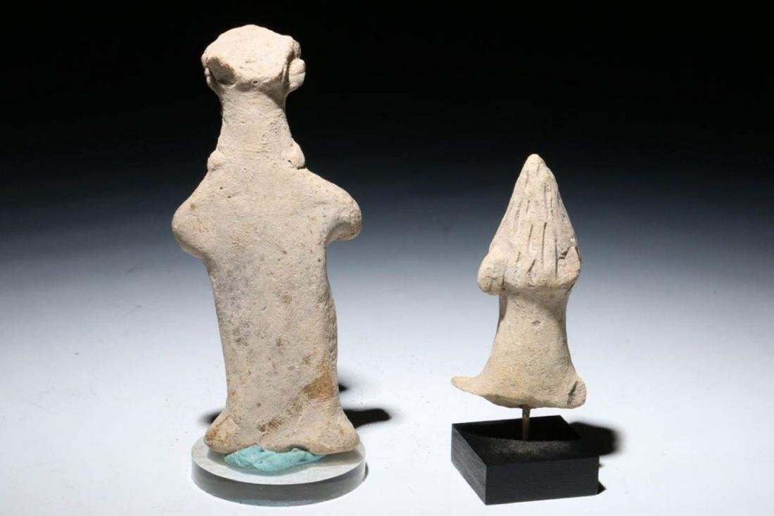ANCIENT SYRO HITTITE FIGURINES Lot of Two - 4