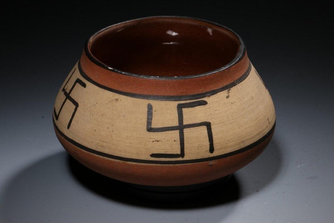 Native American Swirling Log Bowl - 3