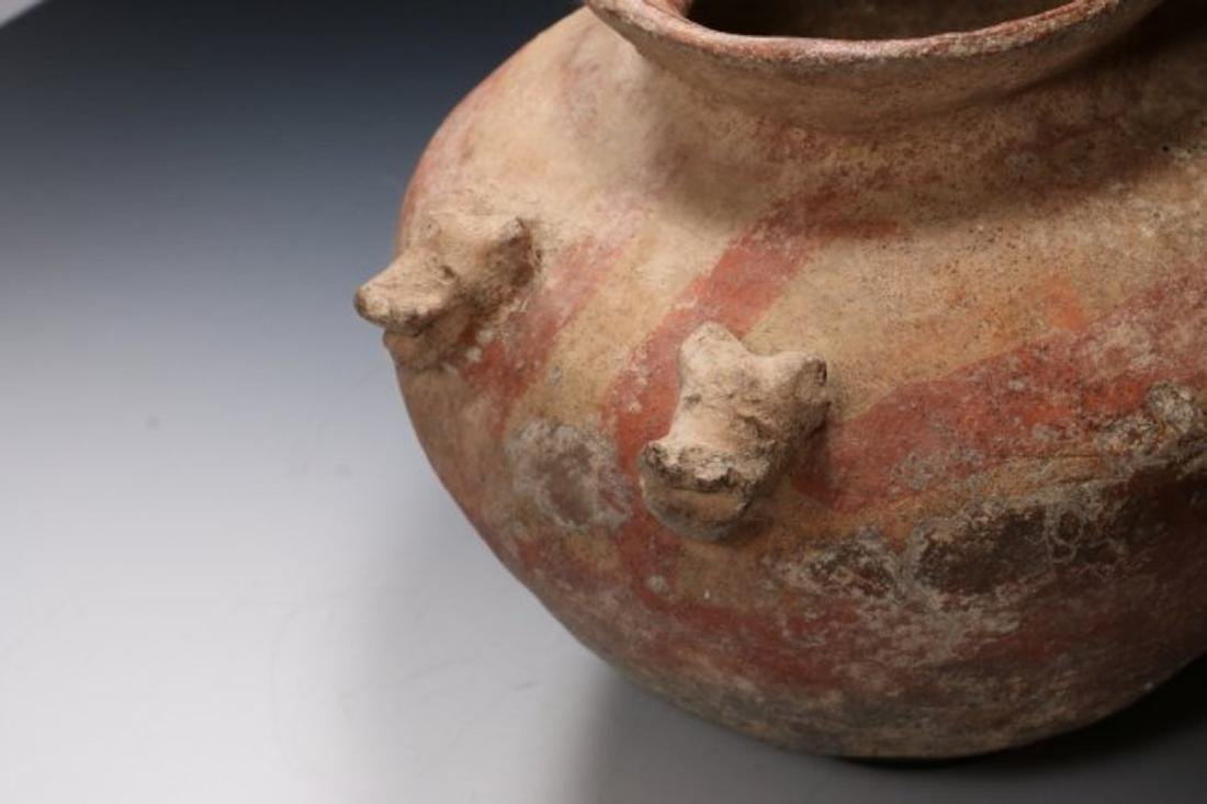 Pre-Columbian Large Olla with Jaguars - Costa Rica 500 - 4