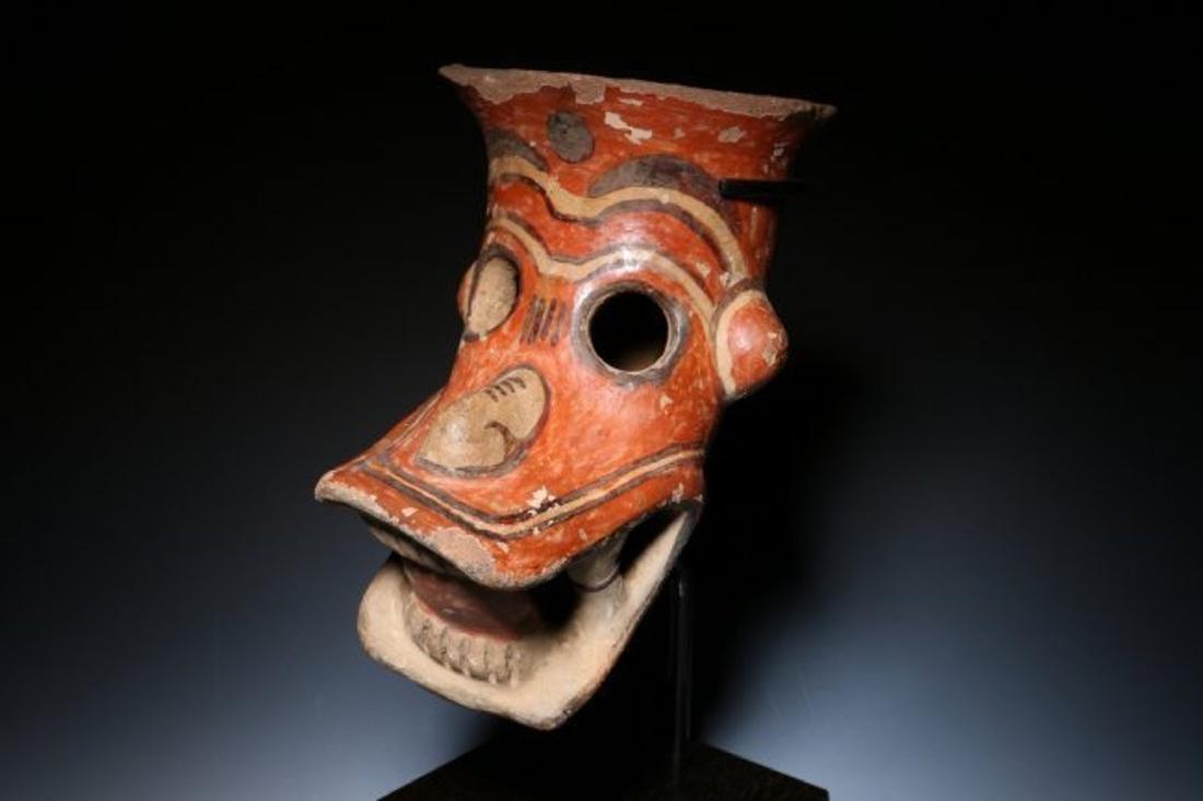Pre-Columbian Zoomorphic Head – Jaguar - 2