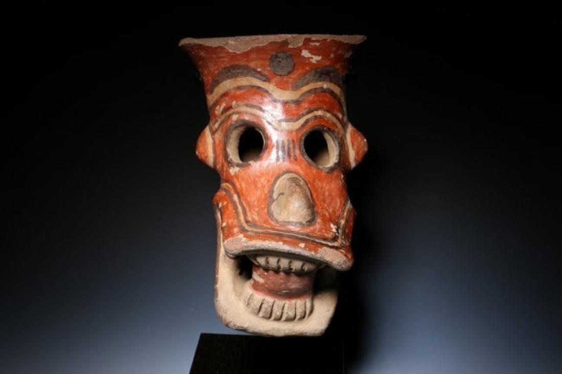 Pre-Columbian Zoomorphic Head – Jaguar - 4