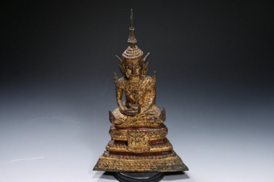 Bronze Ratanikosin Buddha