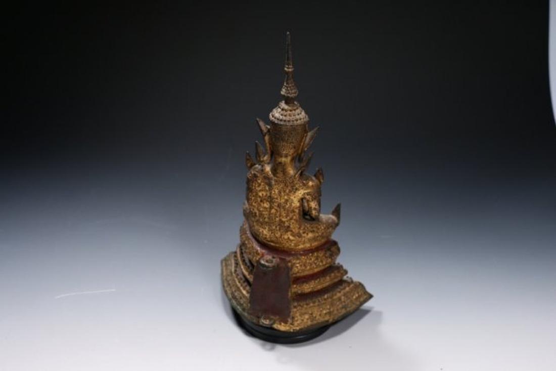 Bronze Ratanikosin Buddha - 4