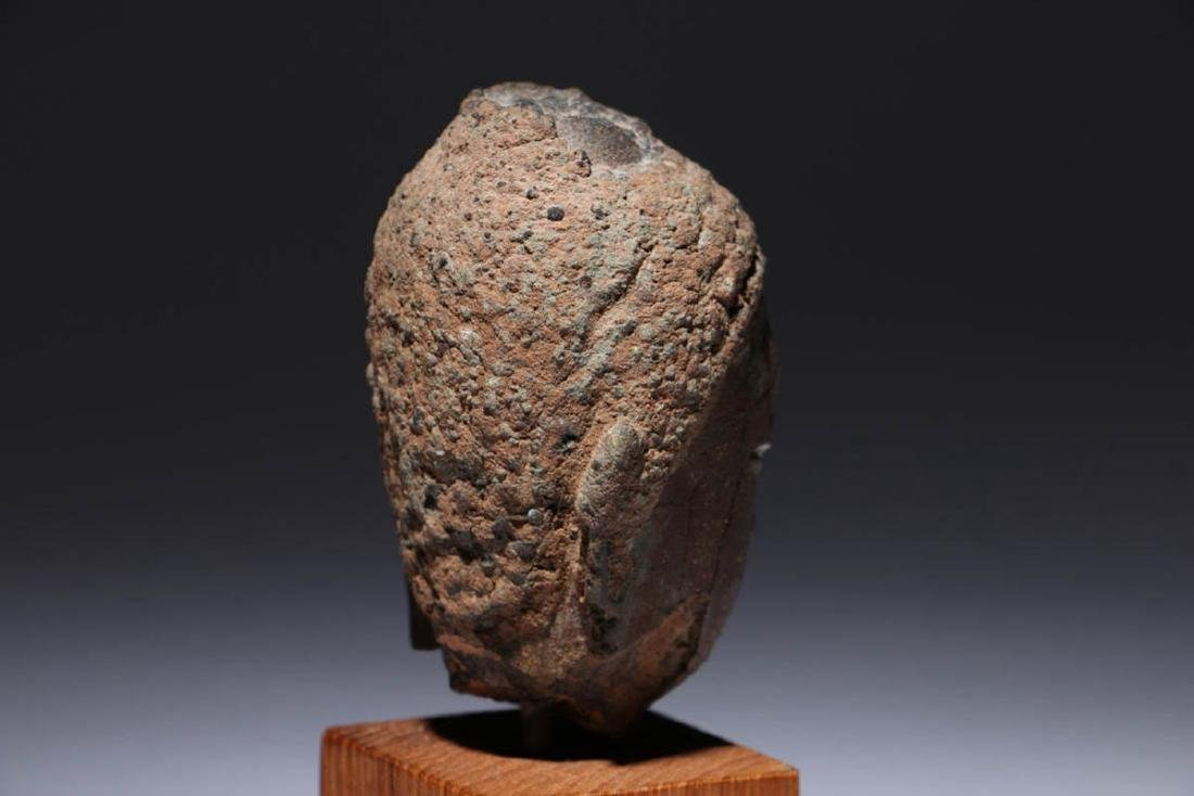 Bronze Buddha head - 5