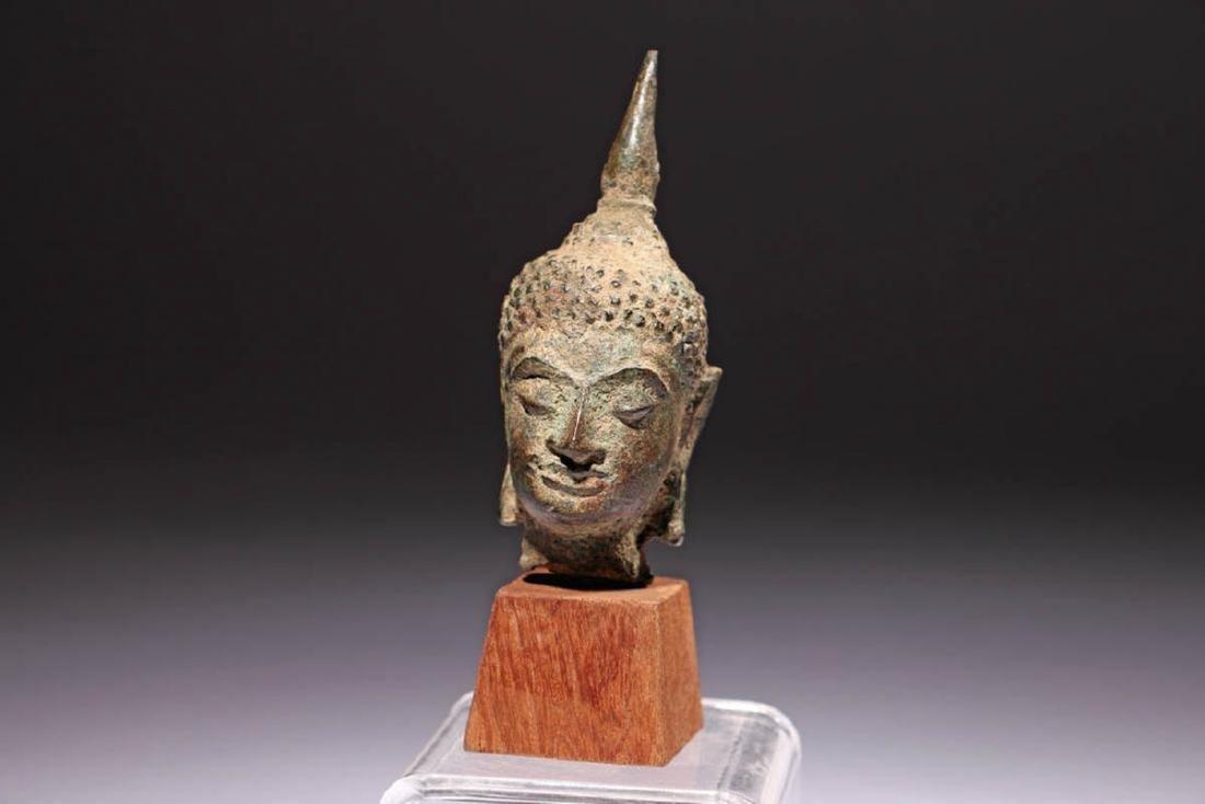 Ancient Bronze Buddha