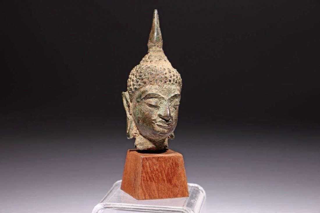 Ancient Bronze Buddha - 2