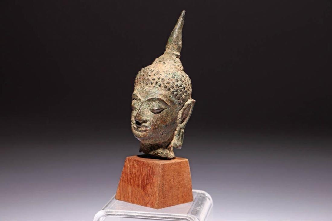 Ancient Bronze Buddha - 3