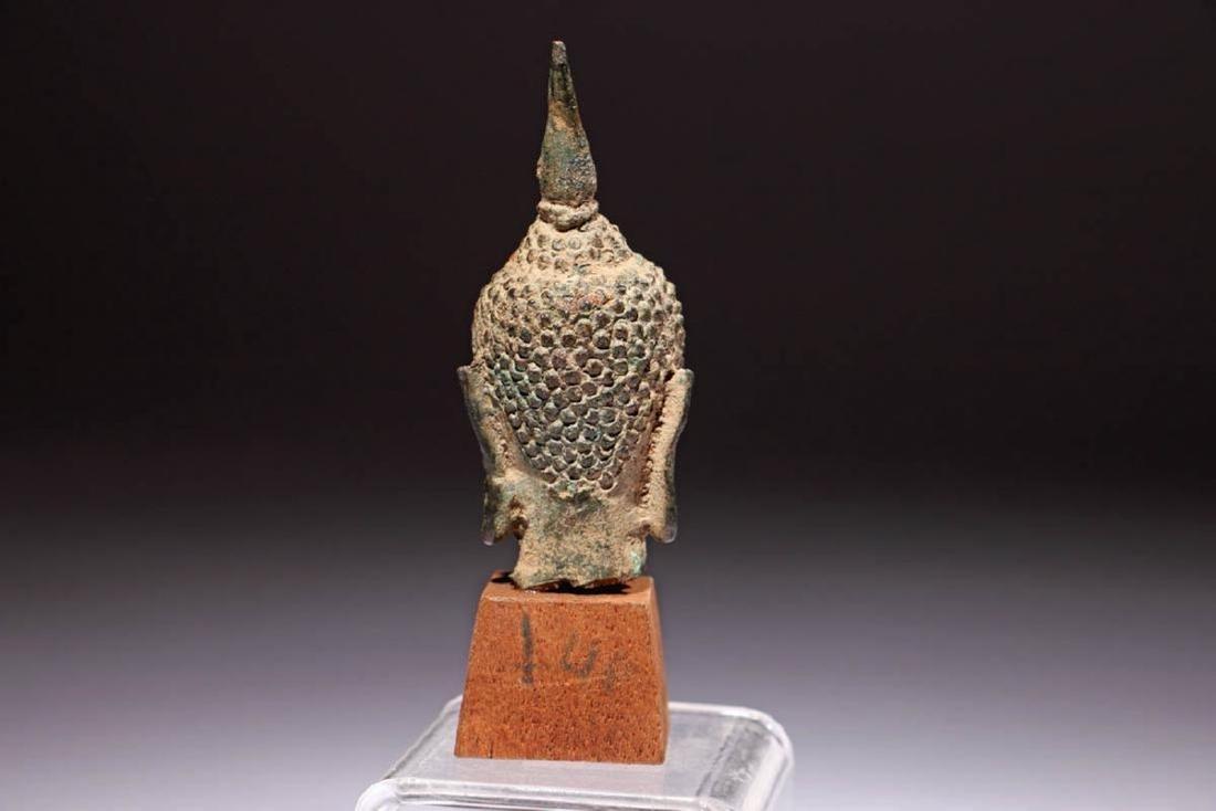 Ancient Bronze Buddha - 4