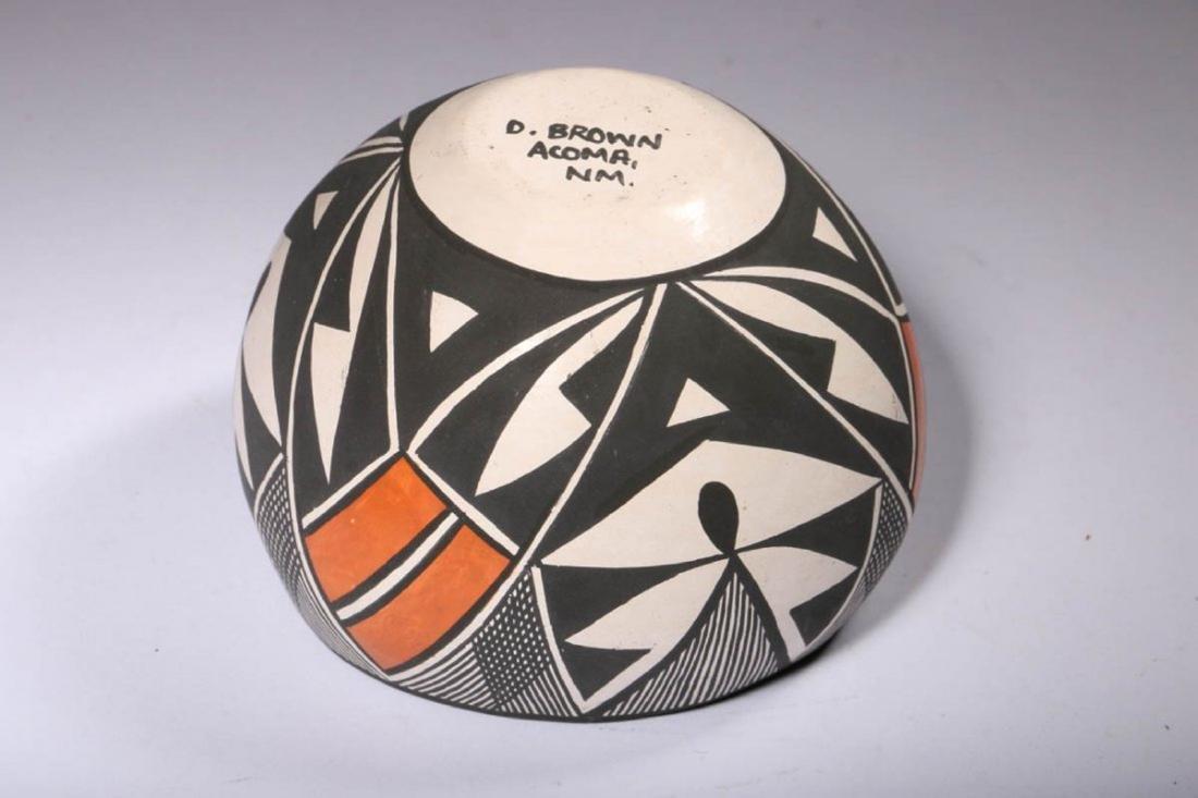 Native American Acoma Pottery - 5