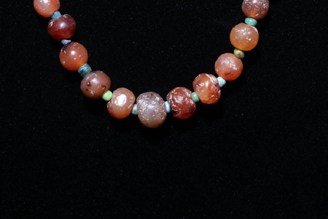 Ancient Beaded Necklace - 5