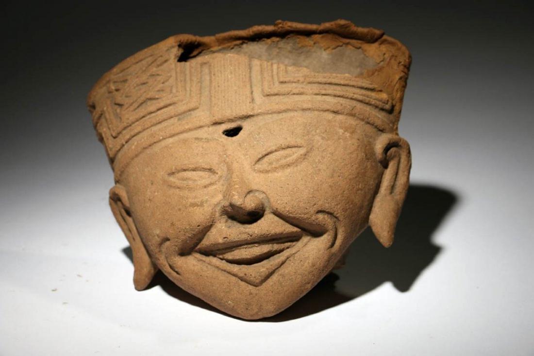 Pre-Columbian Sonriente Head