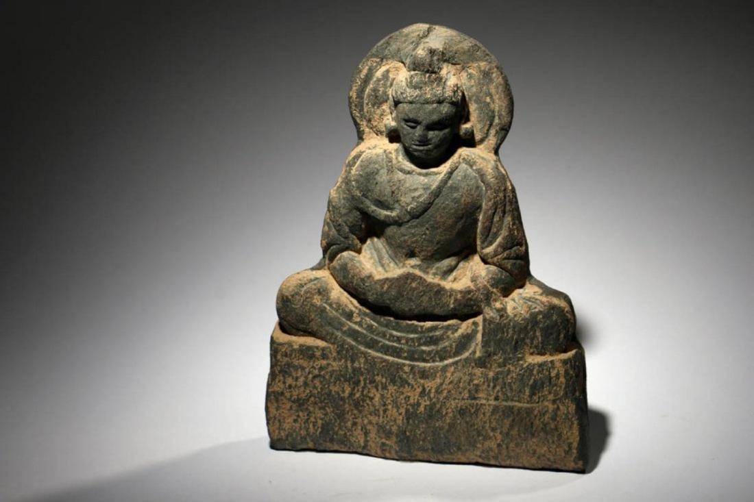 Gandharan Stone Buddha Panel