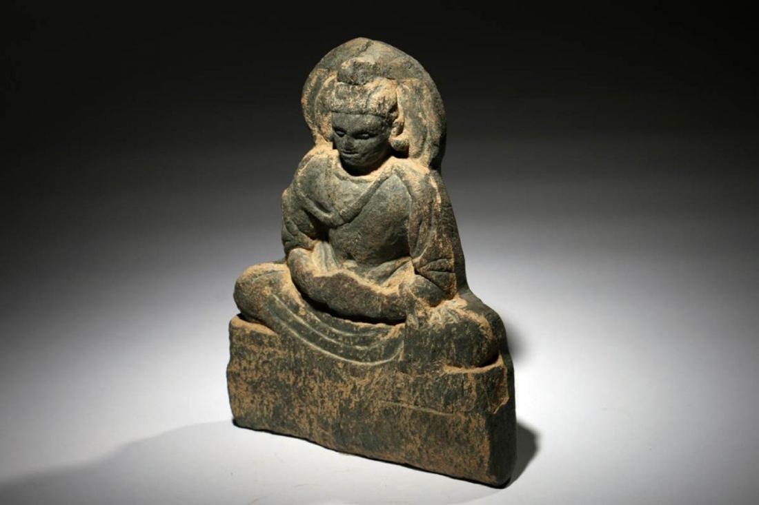 Gandharan Stone Buddha Panel - 3