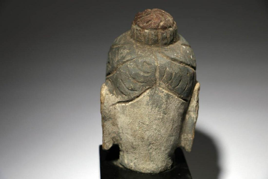 Stone Buddha Head - 4