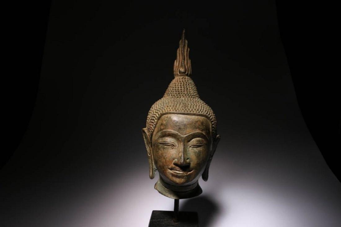 Antique Thailand Buddha Head