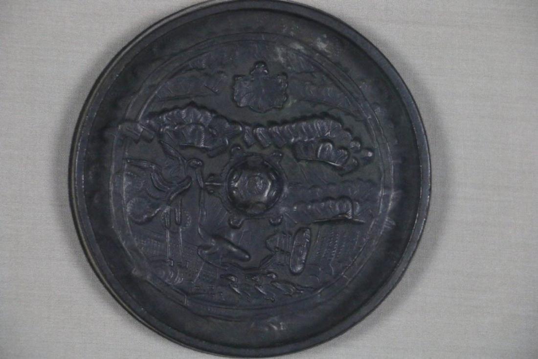 CHINESE BRONZE MIRROR EDO PERIOD (1600-1868) - 3