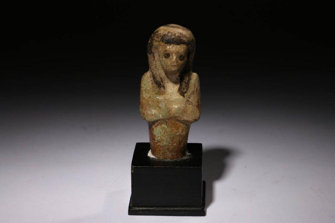 Ancient Egyptian Shabti Fragment