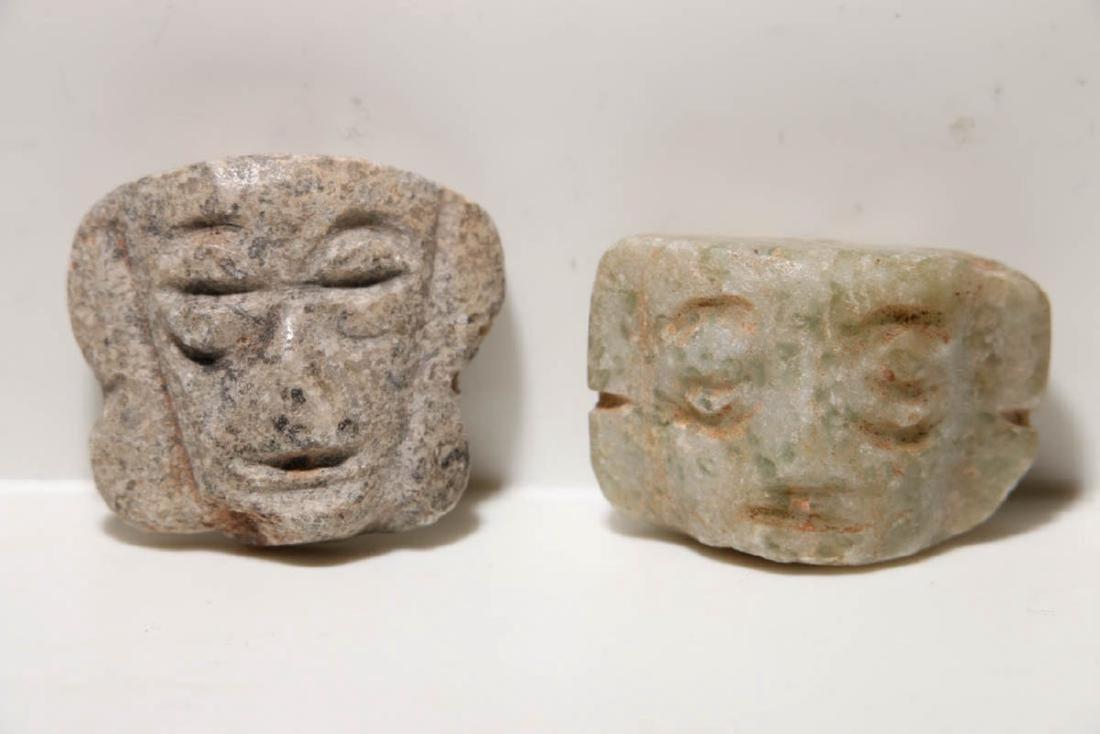 Pre-Columbian Pendante Heads