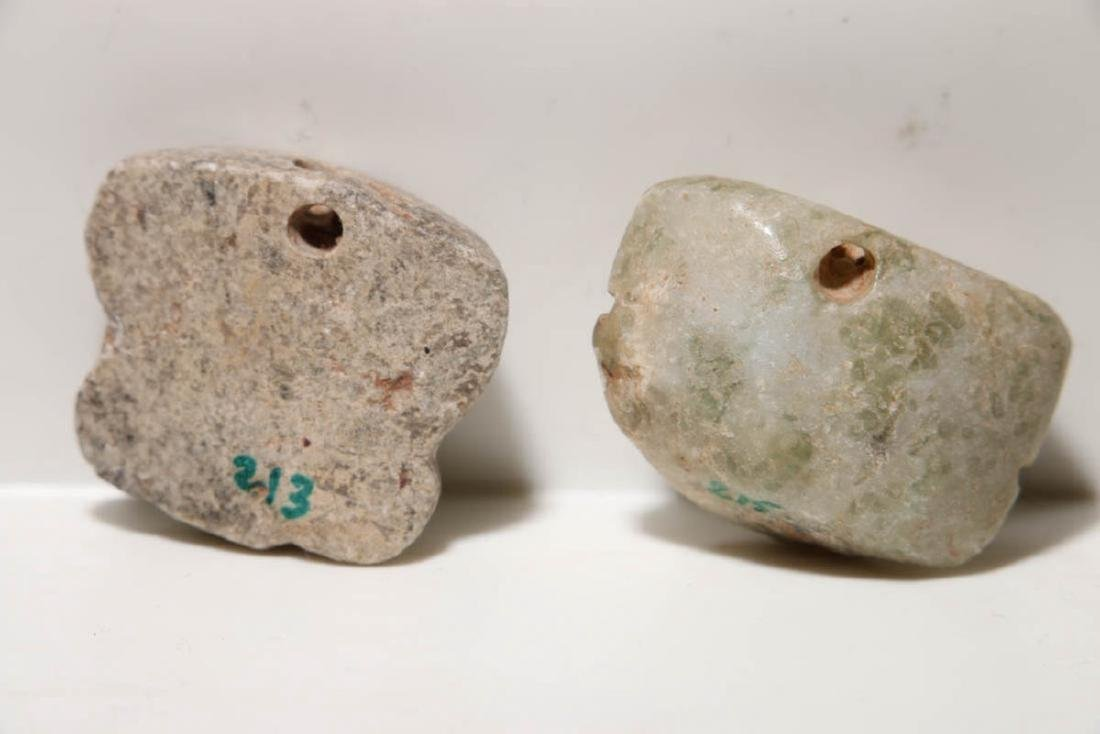 Pre-Columbian Pendante Heads - 2