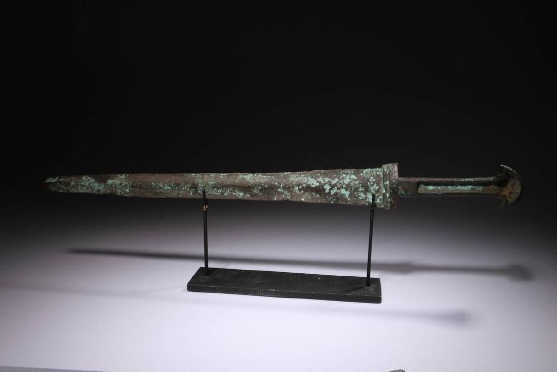 Ancient Bronze Short Sword