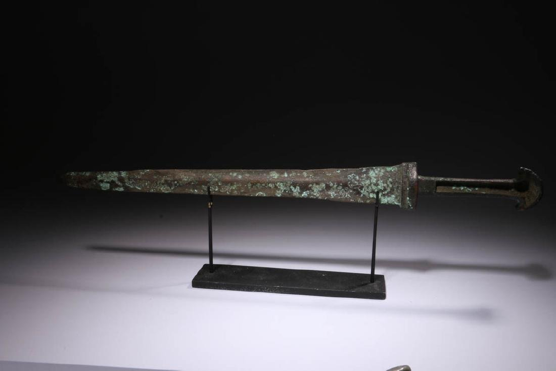 Ancient Bronze Short Sword - 2